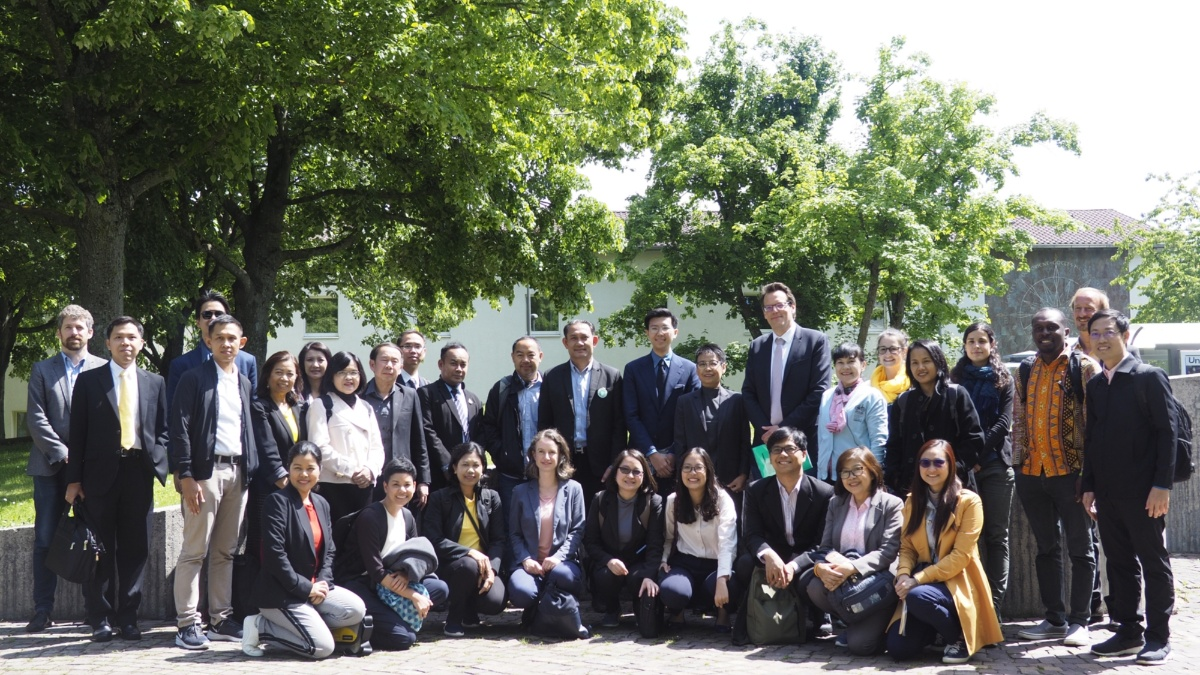Study visit to Stuttgart, May 2019  (c) IREUS